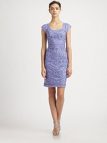 Sue Wong Embroidered Peri Dress