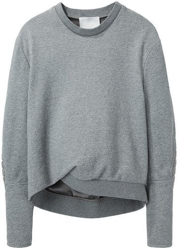 3.1 Phillip Lim / Biker Sleeve Sweatshirt