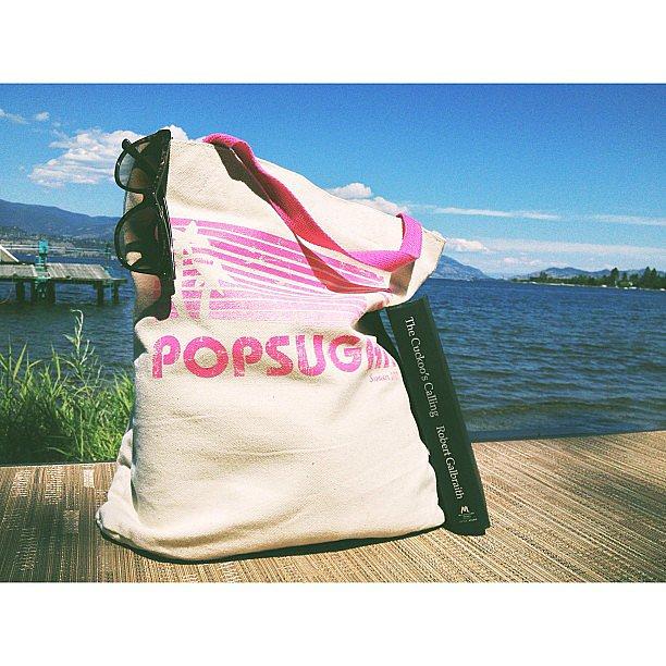 I shared my Summer vacation reading on the POPSUGAR Love & Sex Instagram.