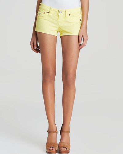 True Religion Shorts - Joey Corduroy in Daffodil