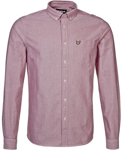 Lyle & Scott Hemd royal red