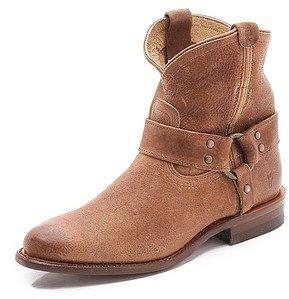 Frye Wyatt Harness Short Boots