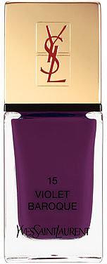Yves Saint Laurent Beaute La Laque No15 Violet Baroque