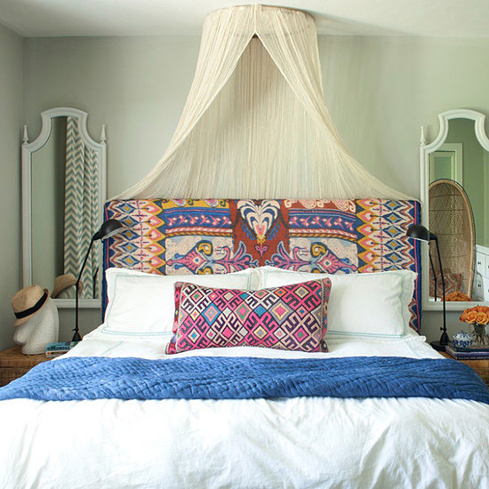10 Ideas For Decorating Over The Bed Popsugar Home