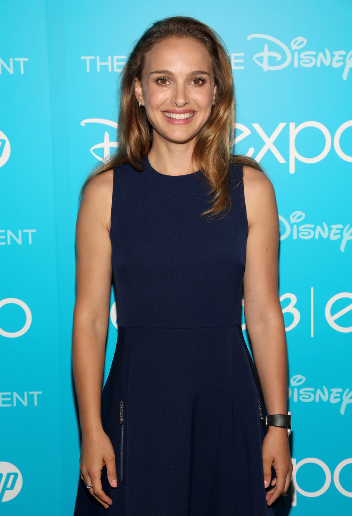 Thor: The Dark World's Natalie Portman was all smiles at the Disney D23 Expo.