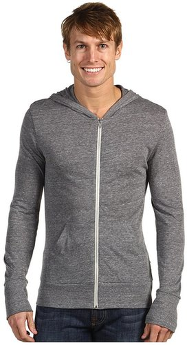 Alternative Apparel - L/S Zip Hoodie (Eco Grey) - Apparel