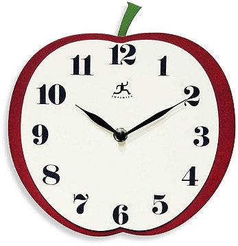 Infinity Instruments Apple Slice Wall Clock