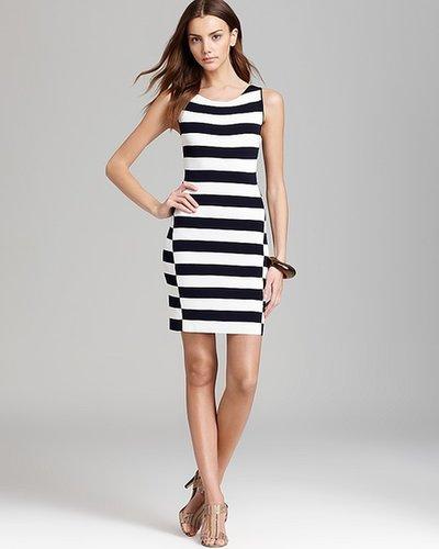 Theory Sweater Dress - Lasina Stripe