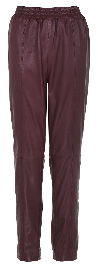 Rihanna for River Island Leather Trousers ($160)
