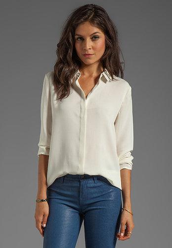 Theory Simra Silk Shirt