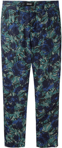 Zucca / Slouchy Floral Pant