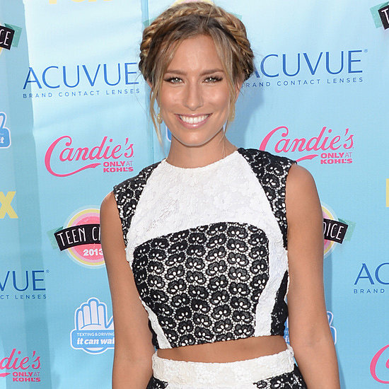 Renee Bargh Attends the 2013 Teen Choice Awards