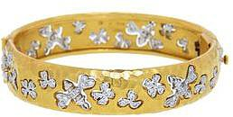Cathy Waterman Bees Chasing Flowers Bangle