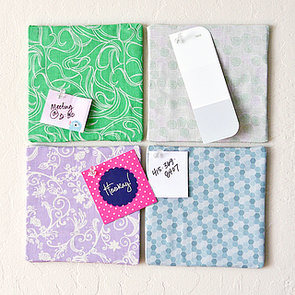 DIY Fabric-Covered Bulletin Boards