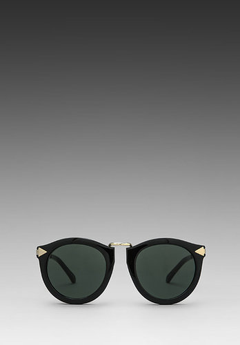 Karen Walker Harvest in Black/Gold