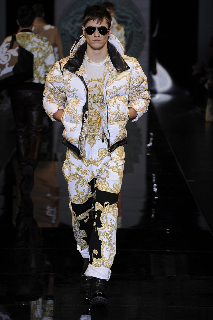 Who wouldn't want their gent decked in head-to-toe Versace?