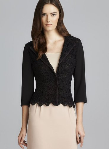 Philosophy Three Button Lace Jacket