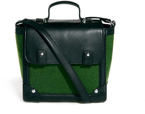 ASOS Bag With Felt And Metal Corners
