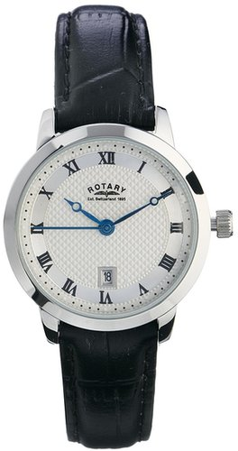 Rotary Stainless Steel Analogue Watch