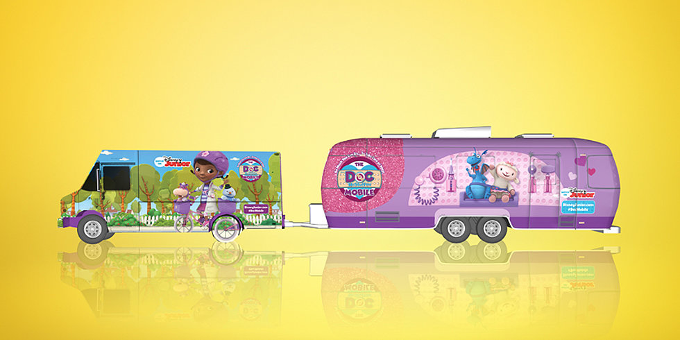 Doc McStuffins Hits the Road in the Name of Good Health