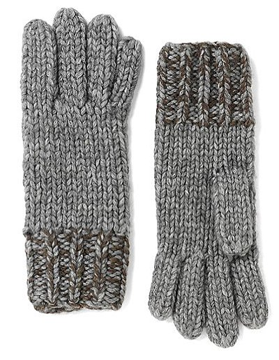 Before you know it, we'll be bundling up again — treat yourself with these Brooks Brothers marled wool and alpaca gloves ($49, originally $9