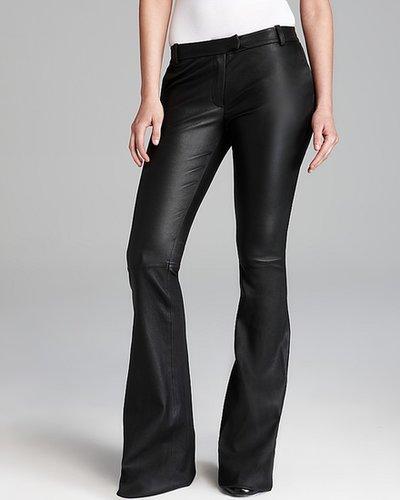 Rachel Zoe Pants - Hutton Pant Stretch Leather Flare