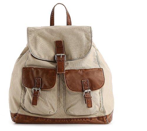 Poppie Jones Canvas Backpack