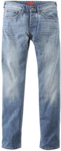Jean C*FIVE regular 3 longueurs bleached coton