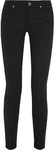 Paige Verdugo halbhohe Skinny Jeans aus Stretch-Jacquard