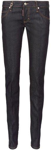 Dsquared2 Slim Jeans Dunkelblau
