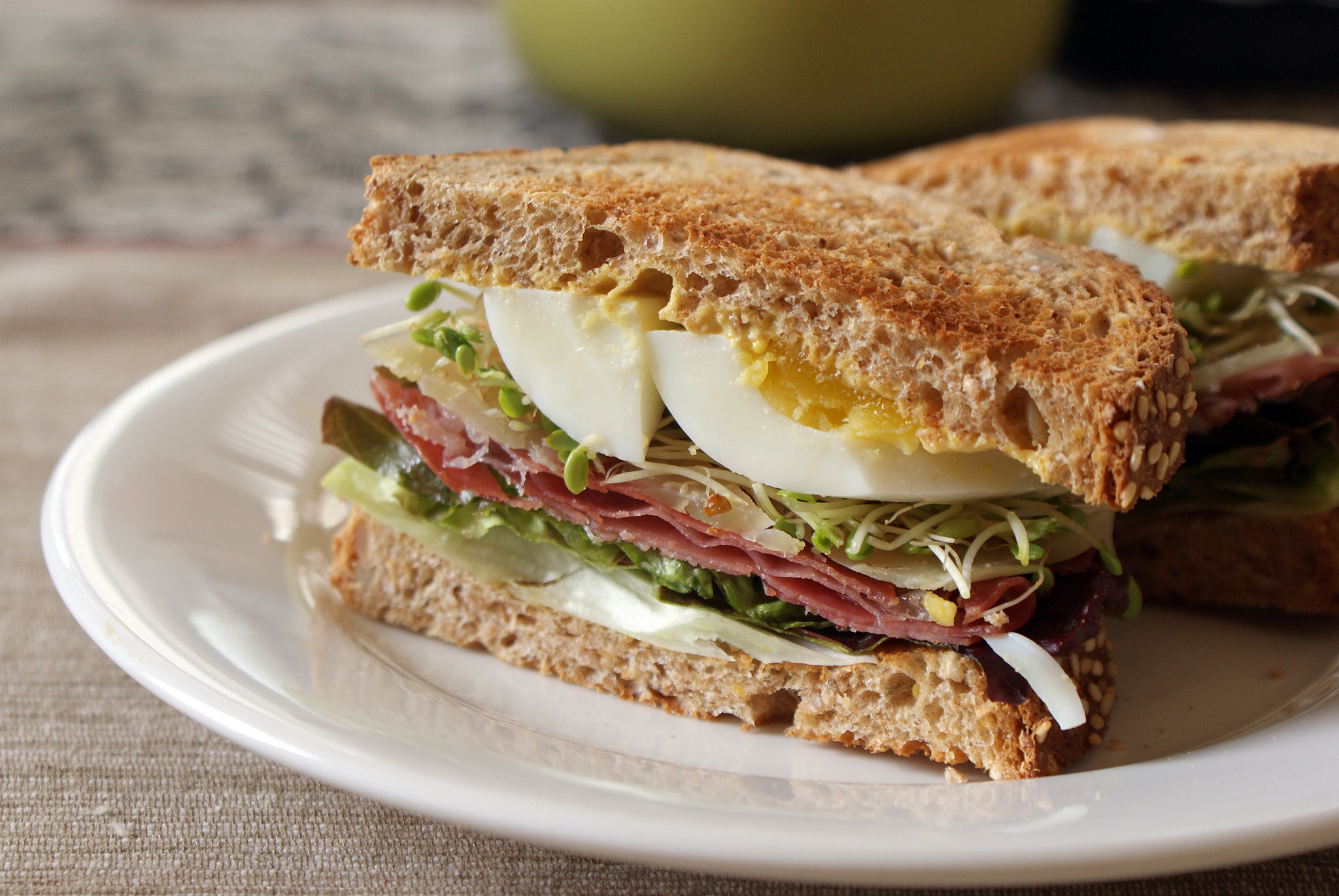 Ham (Egg) and Cheese
