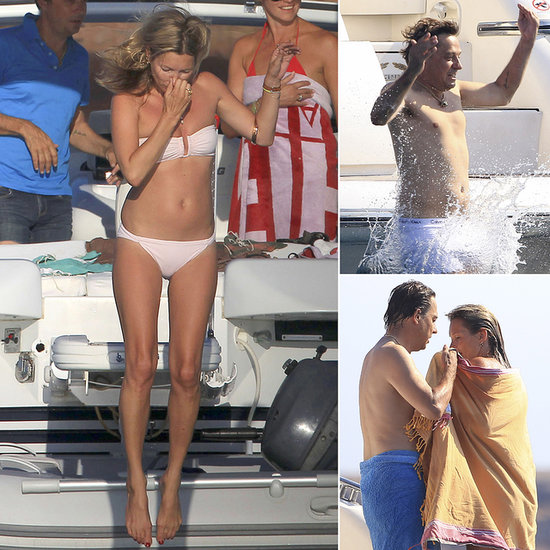 Kate Moss and Jamie Hince's Love Boat Cruises Into Ibiza