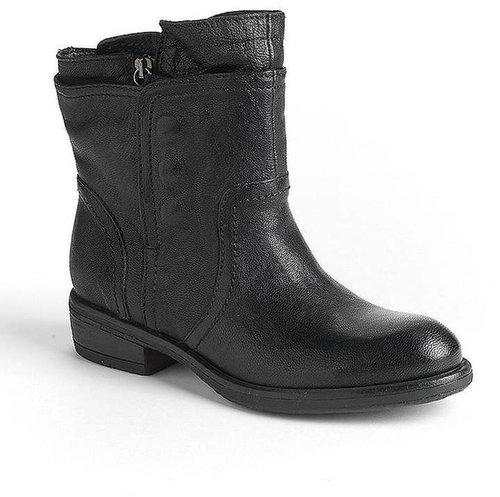VERA WANG LAVENDER Ozita Leather Moto Boots
