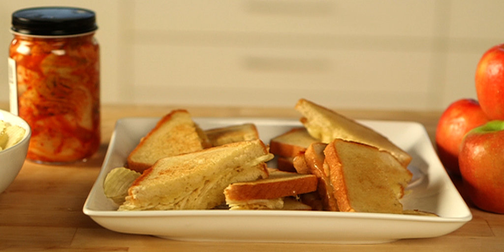 The Ultimate Grilled Cheese: Sweet, Salty, and Spicy