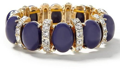 Cabochon Crystal Stretch Bracelet