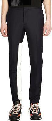 Lanvin Contrast Inset Slim Trousers
