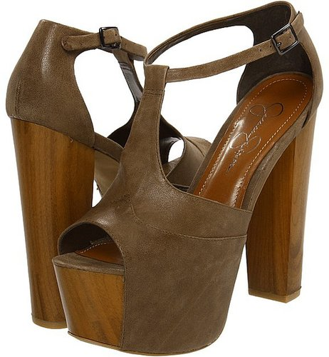 Jessica Simpson - Dany (Coffee Summer) - Footwear