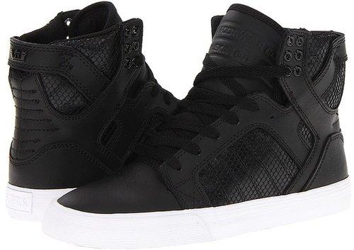 Supra - Skytop (Black/Black/White) - Footwear