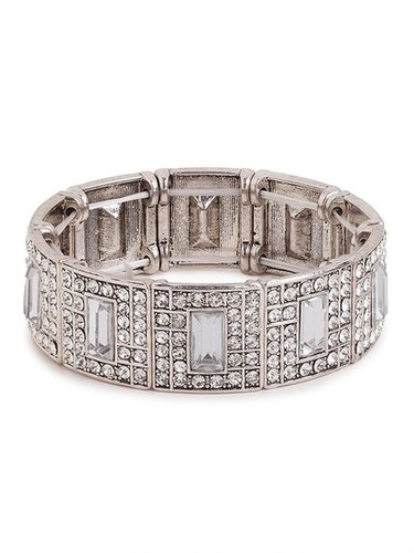 Diamond Iced Bangle