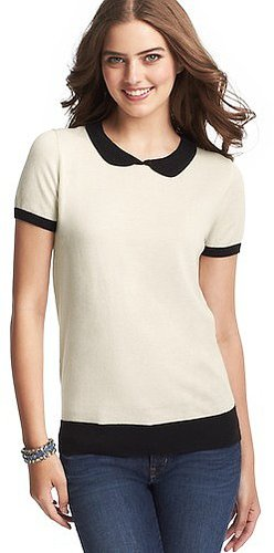 Peter Pan Collar Sweater Tee
