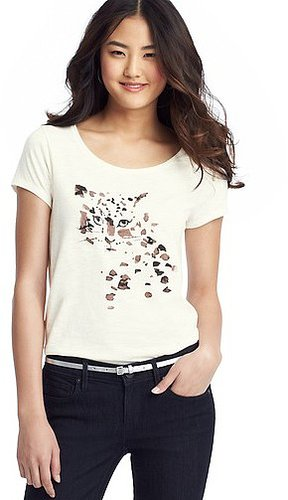 Watercolor Leopard Print Tee