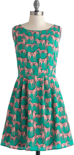 Horse of a Different Color Dress