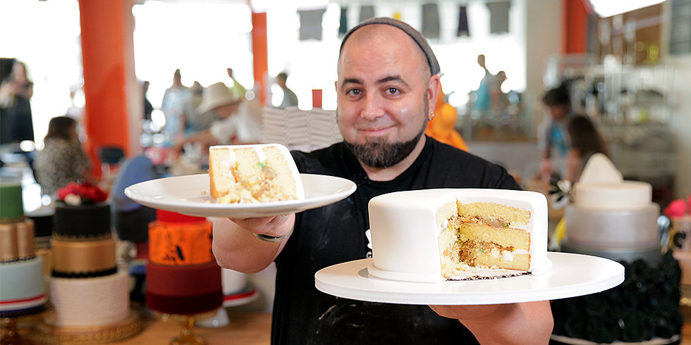 Duff Goldman's Secrets to Layer-Cake Perfection