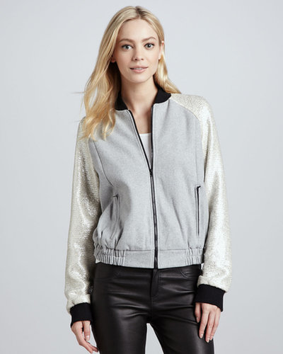 Cameo Ask Me Anything Bomber Jacket