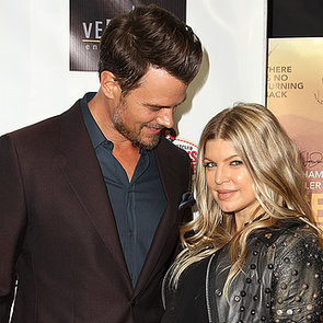 Pregnant Fergie With Josh Duhamel at Scenic Route Premiere
