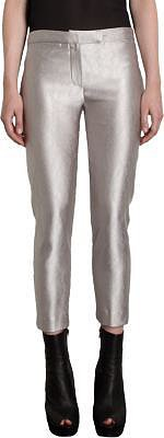 Ann Demeulemeester Metallic Cropped Pants