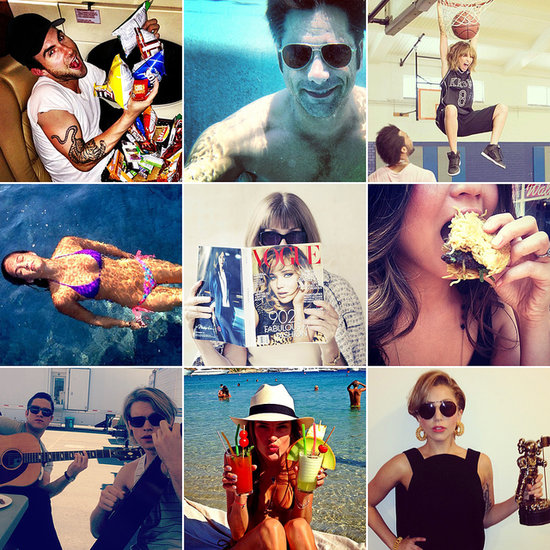 Slam Dunks, Pool Parties, and More of the Week's Cute Celebrity Candids