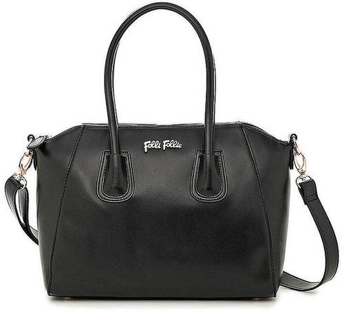 FOLLI FOLLIE K Vintage Black Satchel Handbag