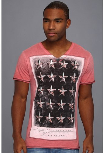 Marc Ecko Cut & Sew - Stud Studded Tee (Sunburnt) - Apparel