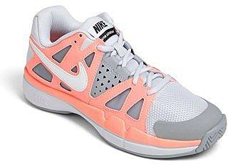 Nike 'Air Vapor Advantage' Tennis Shoe (Women) Grey/ White/ Storm Grey 5 M